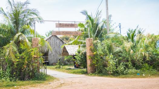 Welcome to The Plantation Hostel in Kampot, Cambodia