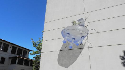 Urban trails: 1 mile hike of downtown Palo Alto's Greg Brown murals