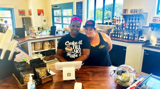 The owners of Cruise Coffee and The Hot Pink Box unite to form a perfect partnership