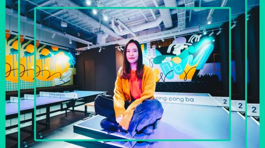 Keeenue is a Tokyo-based artist with worldwide acclaim for her unbridled creativity
