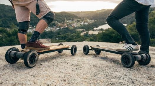 High-quality electric skateboards from Evolve Skateboards in Düsseldorf, Germany
