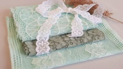 High quality luxury lace and ribbon created by CHANTY