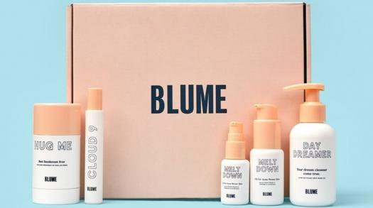 Blume breaks the period stigma with natural skincare products and feminine items