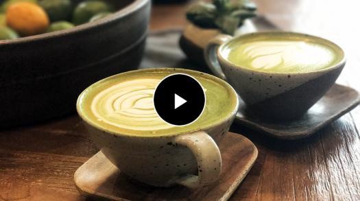 A Saratoga Cafe Serves Matcha Tea & Cappuccinos in Handmade Ceramics