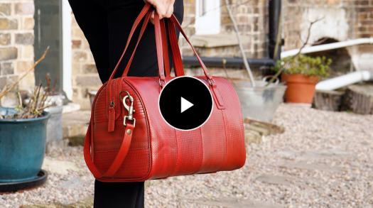 Elvis & Kresse create sustainable genuine leather bags, wallets and accessories