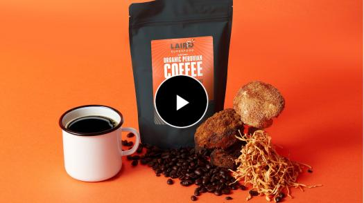 Laird Superfood Mushroom Coffee is packed with antioxidants to supercharge your day